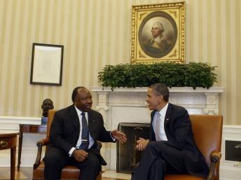 S.E. Ali bongo ondimba et son homologue Barack Obama