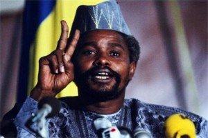 Actualité:nous vous invitons a suivre le films similaire à jean bedel bokassa de la centrafrique mais cette fois au Tchad avec Hissène Habré  qui en sortant chassér par son ancien chef de sécurité laisse les nouveaux maître un pays sans réserve des fonds mais endetté ; dans politique hissen-habre2-300x200